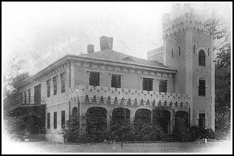 Photo: Pałac barona Wilhelma Hompescha, wyglad pierwotny. (Skan zdjęcia udostępnionego przez Panią Zofię Chmiel)