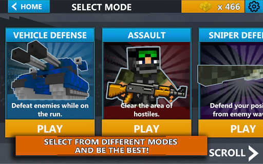 Cube Wars Battle Survival screenshots 16