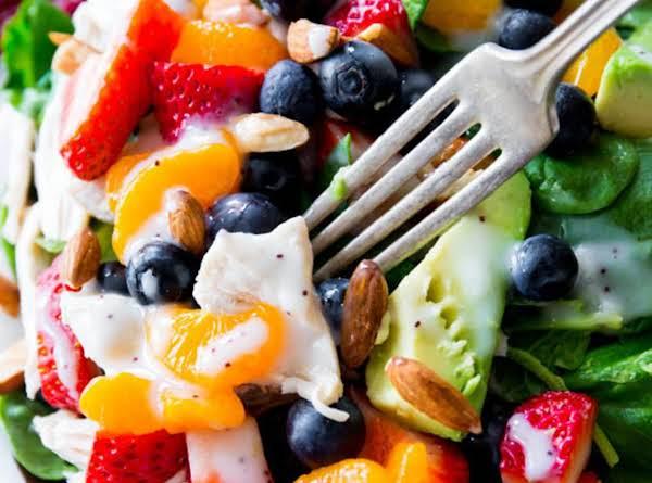 Strawberry Almond Chicken Salad Recipe
