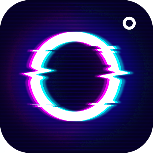 Glitch Video Effect-  Photo Effects Icon