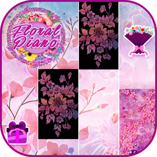 Floral Piano Tiles