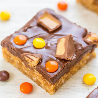 Chocolate Peanut Butter Candy Bars.