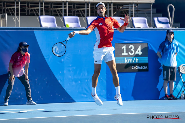 Djokovic imponeert en Medvedev verliest in kwartfinales, Osaka-killer tegen Bencic in vrouwenfinale op Spelen