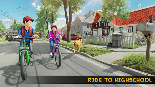 Family Pet Dog Home Adventure Game androidiapk screenshots 1