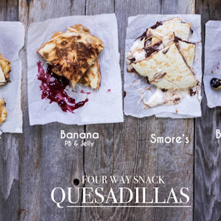 Snack Quesadillas Four Way