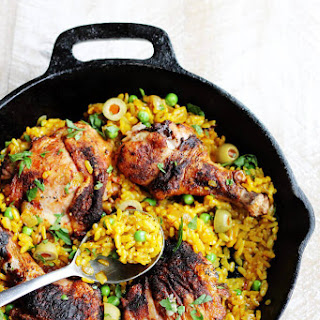 One Pot Chicken and Saffron Rice Recipe