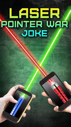 레이저 포인터 전쟁 농담