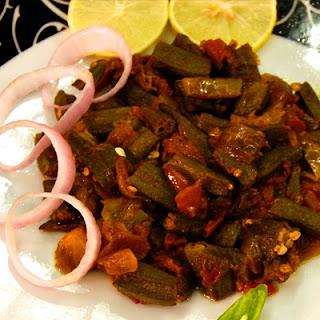 Vegan Indian Okra