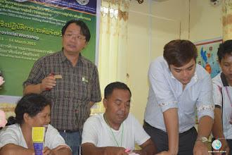 Photo: MEL session with Dr. Phassakorn Nuntapanich, Faculty, Ubonratchathani Rajabhat University (UBRU)
