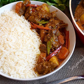 Easy Beef Curry.