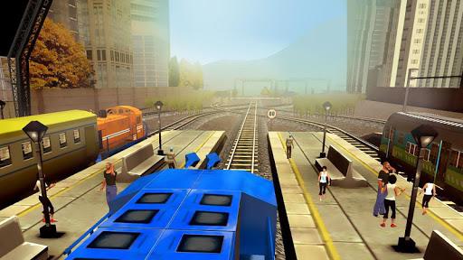 Train Racing Games 3D 2 Joueur astuce APK MOD capture d'écran 1