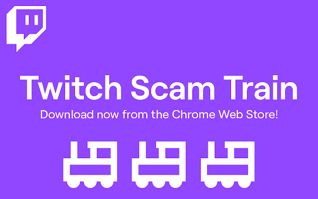 Twitch Scam Train