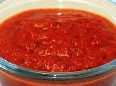 Red Bell Pepper Sauce Recipe
