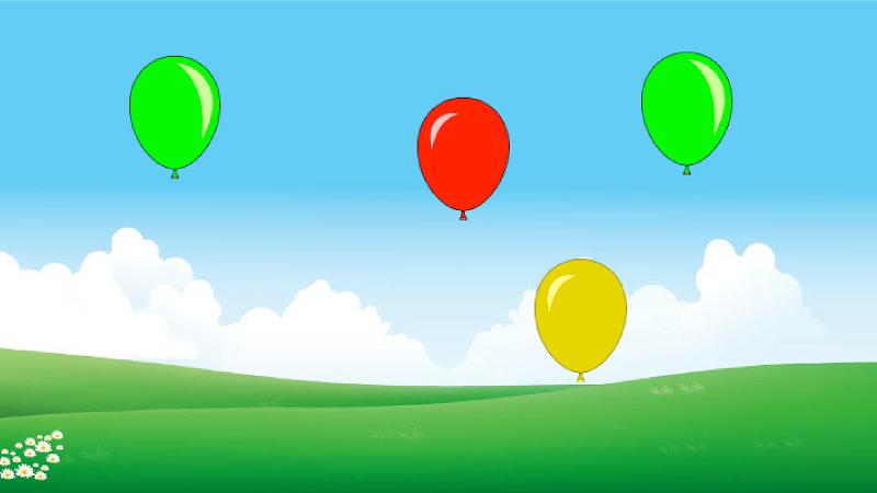 Скриншот Balloons! (game for toddlers)