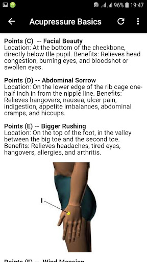 Basics of Acupressure Massage App Report on Mobile Action - App