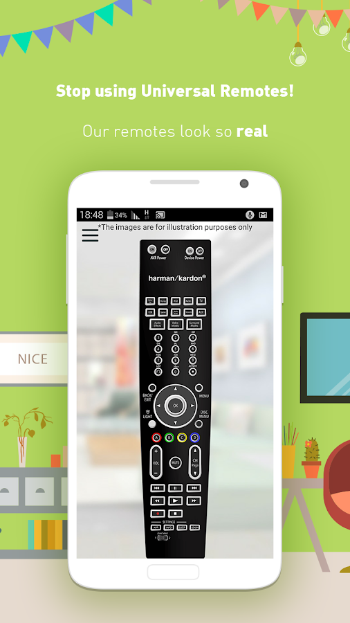 Control It – Remotes Unified!- screenshot