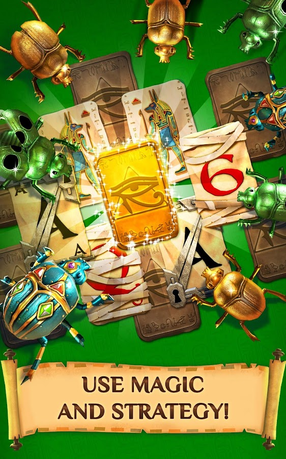 Screenshots of Pyramid Solitaire Saga for iPhone