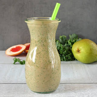 Grapefruit Kale Smoothie.