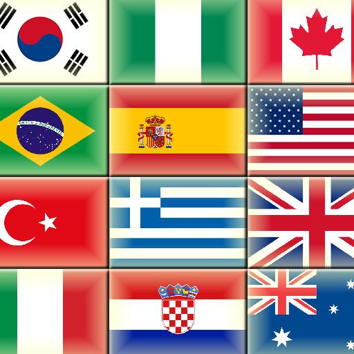 세계 지도와 국기 및 수도 教育 App LOGO-APP試玩
