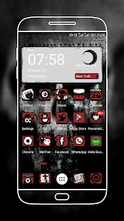 The Horror Night Launcher Theme - náhled