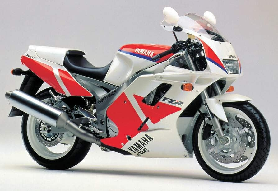 Yamaha FZR 1000  Exup-manual-taller-despiece-mecanica