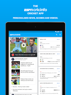 ESPNCricinfo – Live Cricket Scores, News & Videos  App Download For Android 8