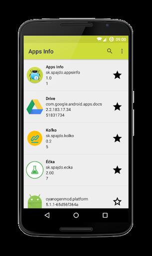 Apps Info