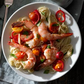 Shrimp with Tomato and Chiles