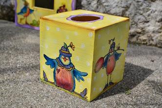 Photo: wooden TISSUE BOX 3