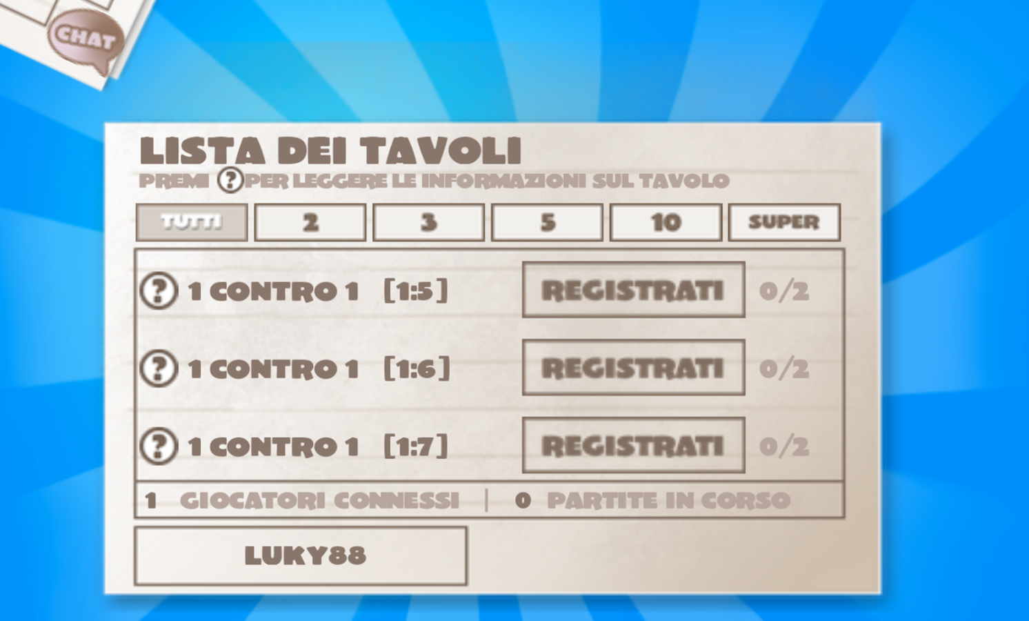 NomiCoseCittà 2 : ONLINE- screenshot