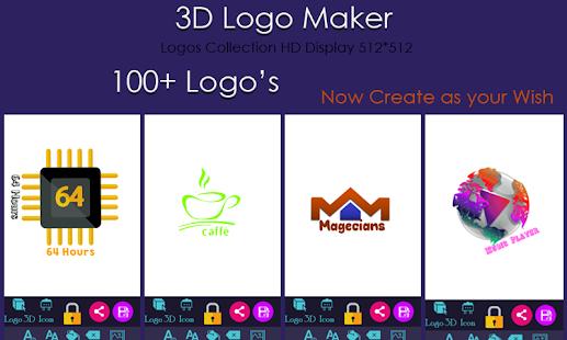 3D Logo Maker - náhled