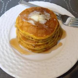 Spiced Pumpkin Pancakes