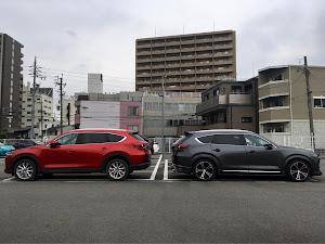 CX-8  L Package AWD 3DA-KG2P 2018年のカスタム事例画像 タカスィさんの2019年07月27日23:12の投稿