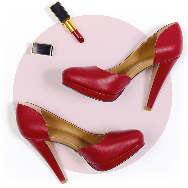 Perfect pairing: 5 lipstick and shoe combinations