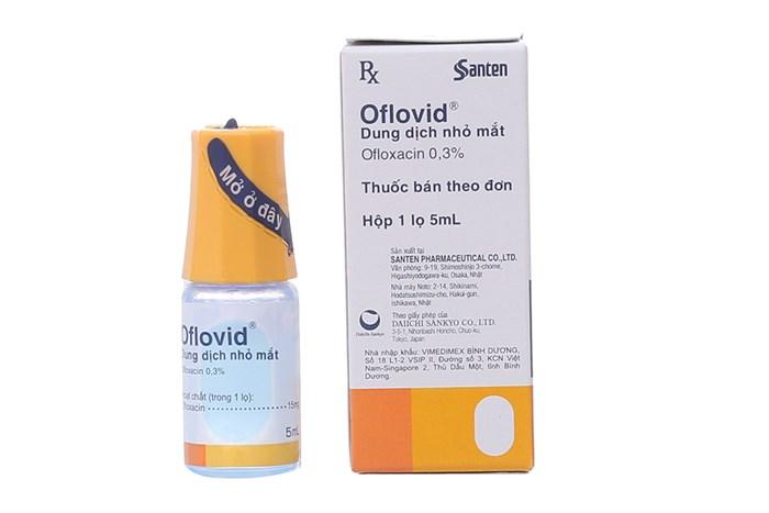 Thuốc nhỏ mắt Oflovid
