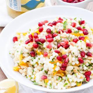 Warm Giant Couscous Salad.