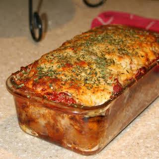 Parmesan Meatloaf {Gluten Free}.