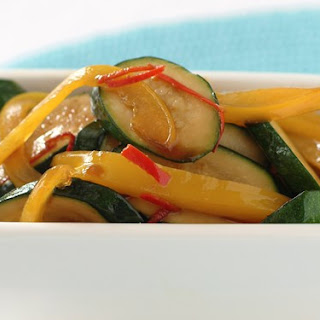 Stir-fried Zucchini.