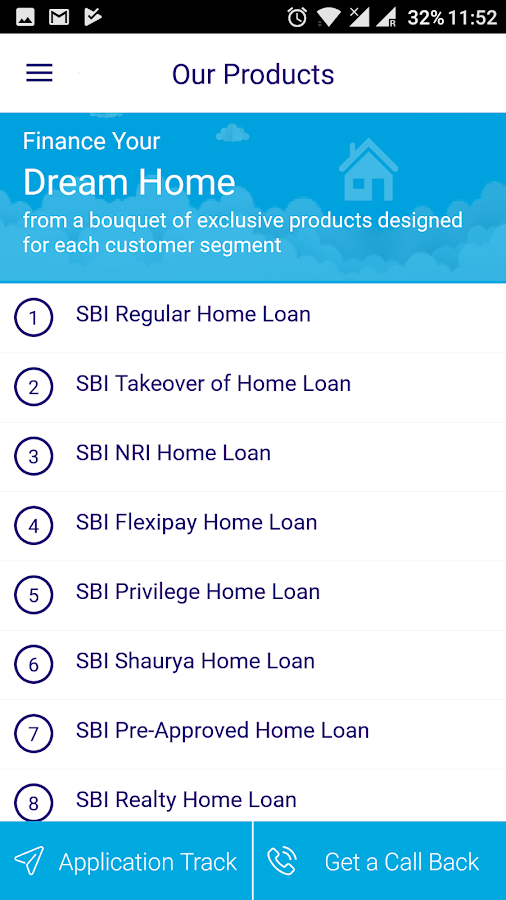 SBI Home Loans- screenshot