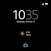 XPERIA™ Theme: Black