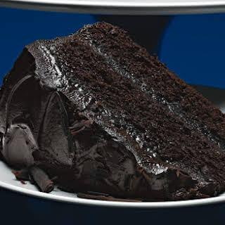 Coffee-Chocolate Layer Cake with Mocha-Mascarpone Frosting.