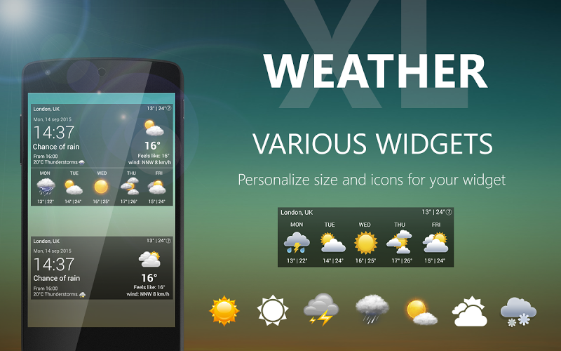 Weather XL PRO Screenshot 15