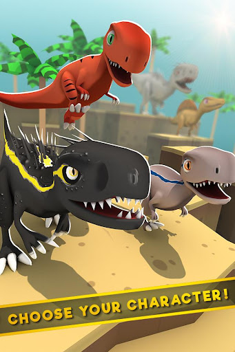 Jurassic Alive: World T-Rex Dinosaur Game screenshot 2