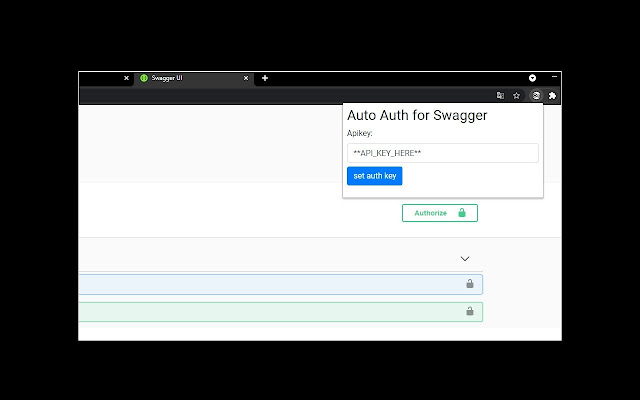 Swagger Auto Auth