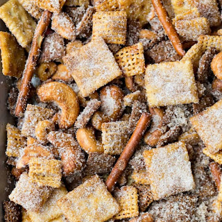 Cinnamon Sugar Sweet and Salty Chex Mix.
