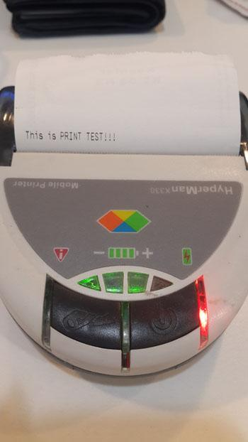 Thermal Bluetoth Printer Helpr- screenshot