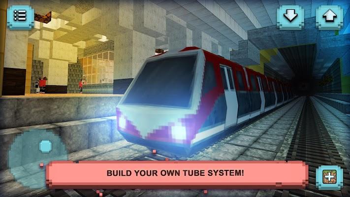 Subway Craft: Build & Ride - screenshot