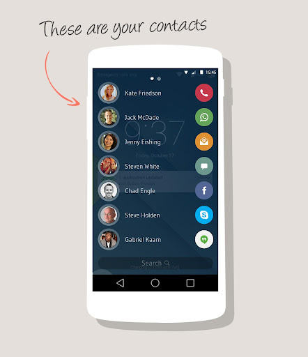 drupe Contacts Dialer