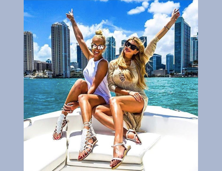 South Beach, one of the world's most Instagrammed tourist destinations.