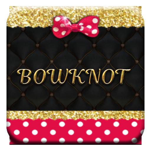 Pink Gold Bowknot